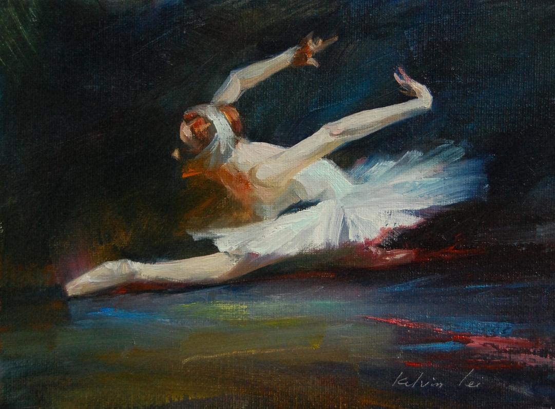 """""""Florence"""" original fine art by Kelvin Lei"""