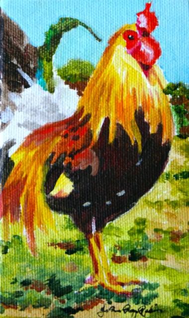 """Jody's Bird"" original fine art by JoAnne Perez Robinson"