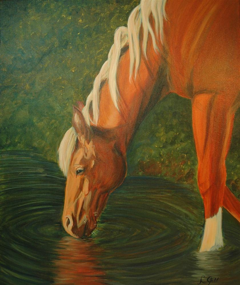 """Serenity"" original fine art by Lyn Gill"