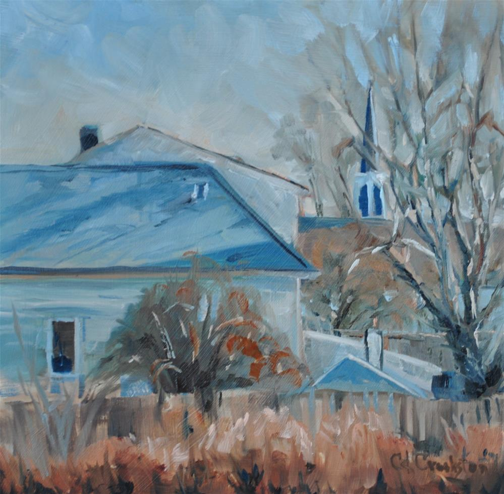 """Colors of Winter"" original fine art by Catherine Crookston"