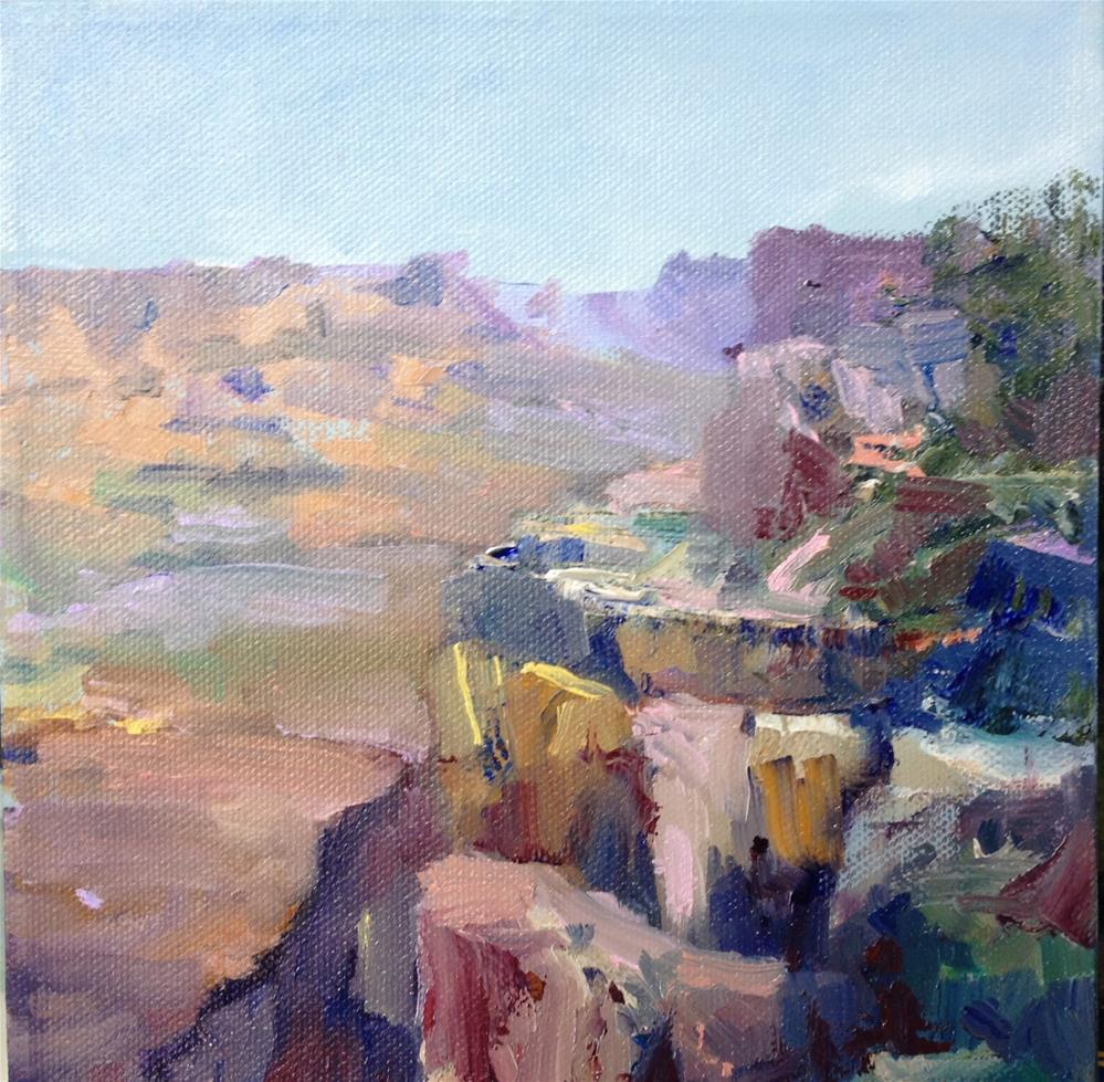 """Canyon Colors"" original fine art by Cathy Boyd"