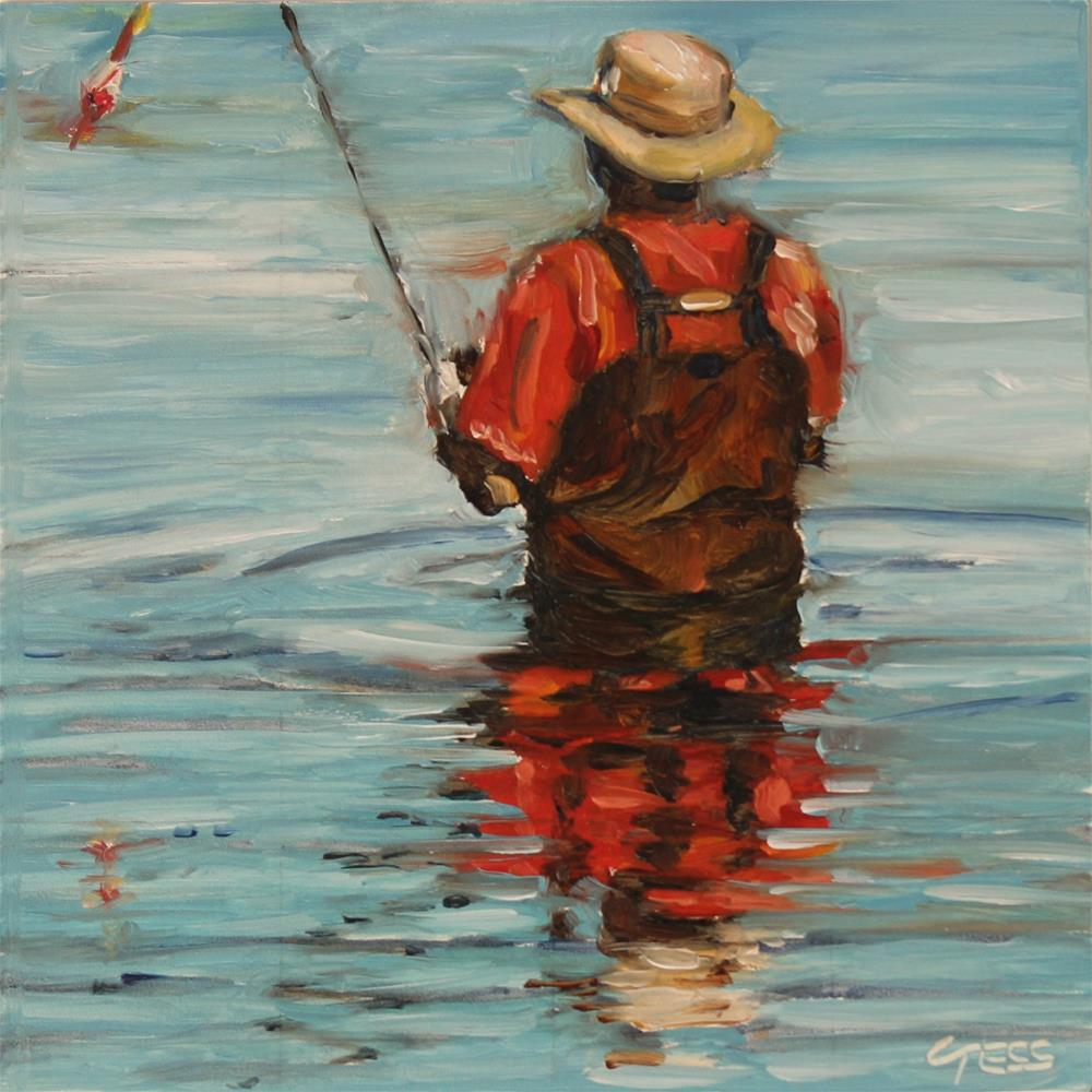 """Fisherman's Blues- The Waterboys"" original fine art by Tess Lehman"