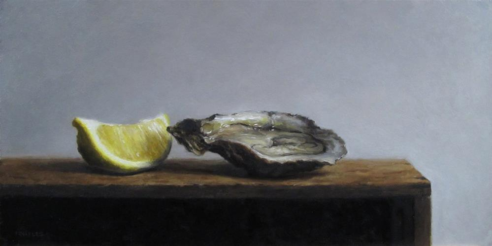 """Cut and Shucked"" original fine art by Michael Naples"