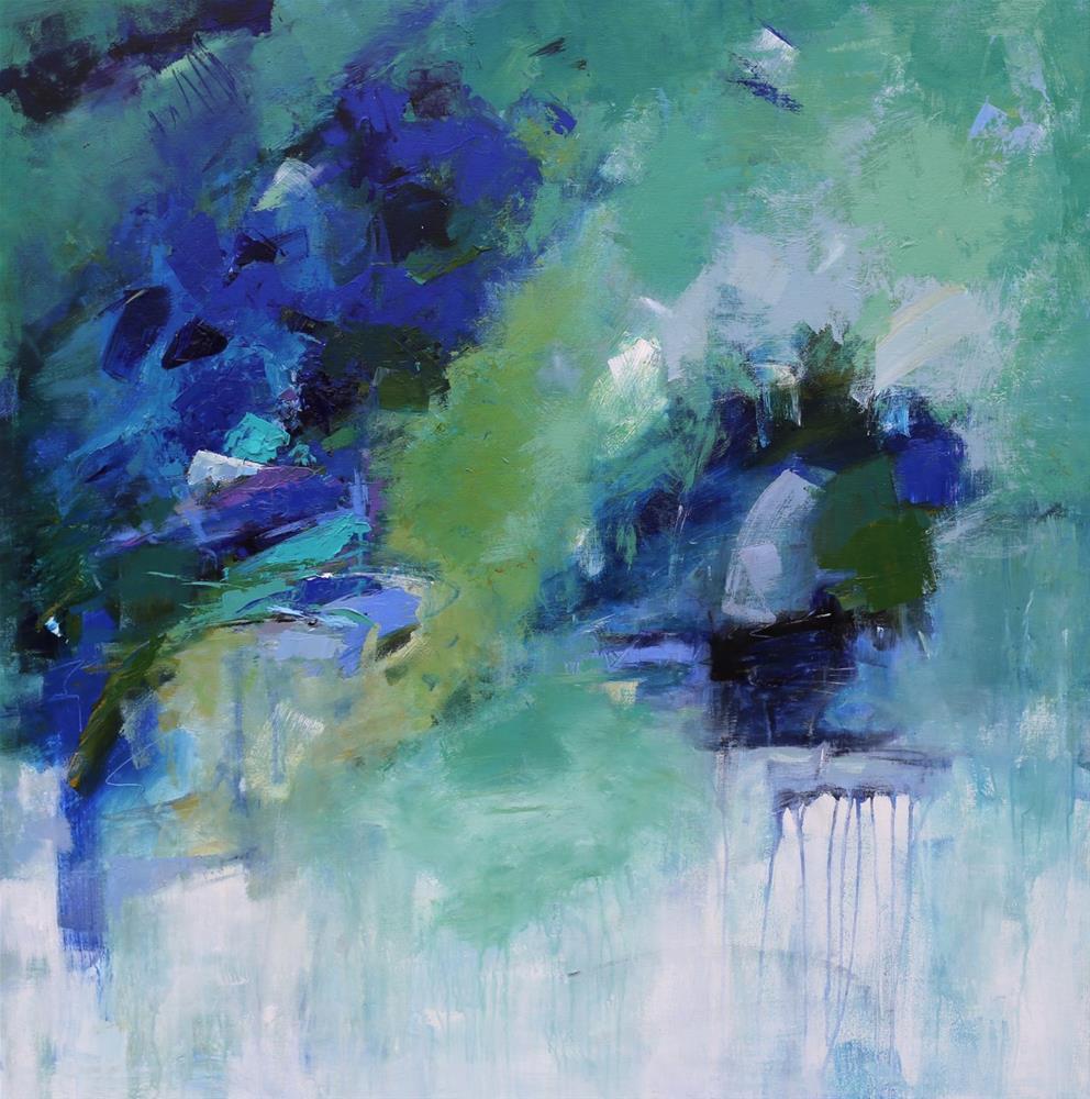 """""""Surge"""" original fine art by Elizabeth Chapman"""