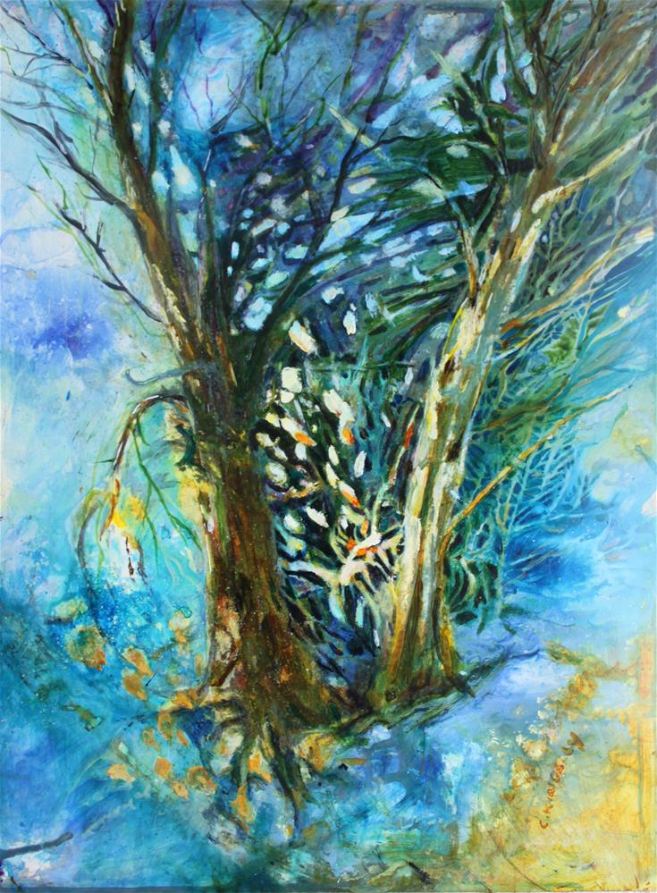 """The Light Beyond"" original fine art by Christiane Kingsley"