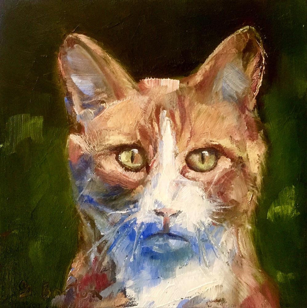"""Tabbytha"" original fine art by Gary Bruton"