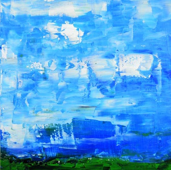 """Landscape No 70"" original fine art by Katie Jeanne Wood"
