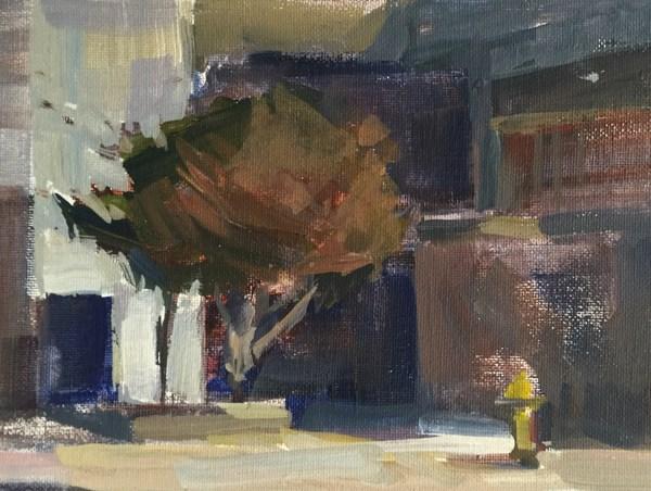 """An Itty Bitty City-Scape"" original fine art by Patti McNutt"
