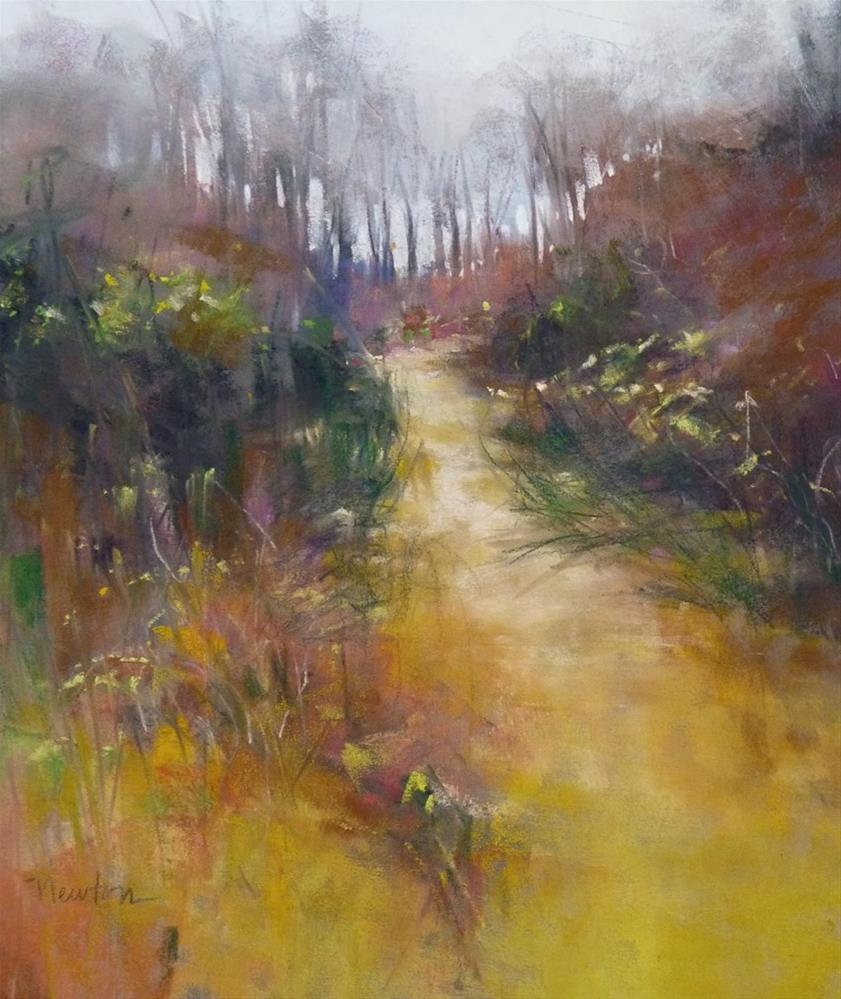 """December Color"" original fine art by Barbara Benedetti Newton"