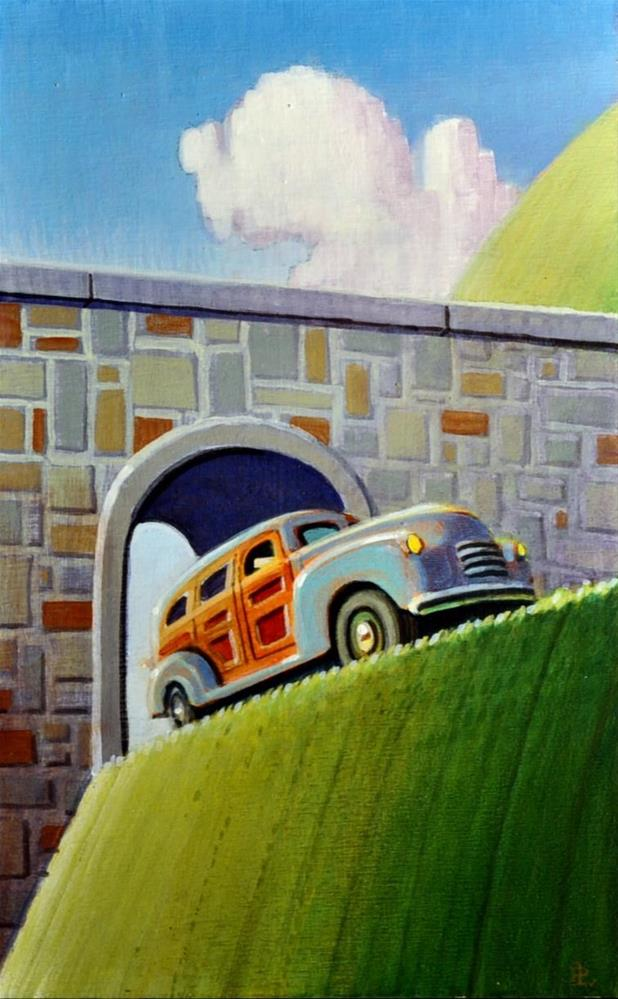 """Mountain Climber"" original fine art by Robert LaDuke"