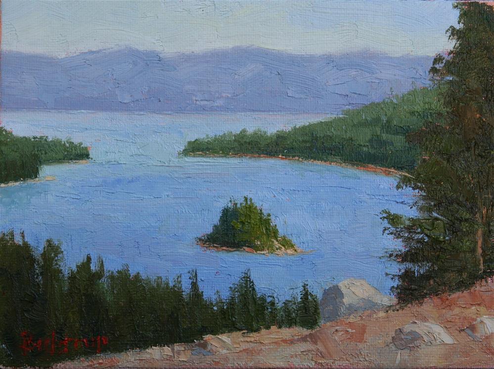 """Emerald Bay"" original fine art by Mark Bidstrup"
