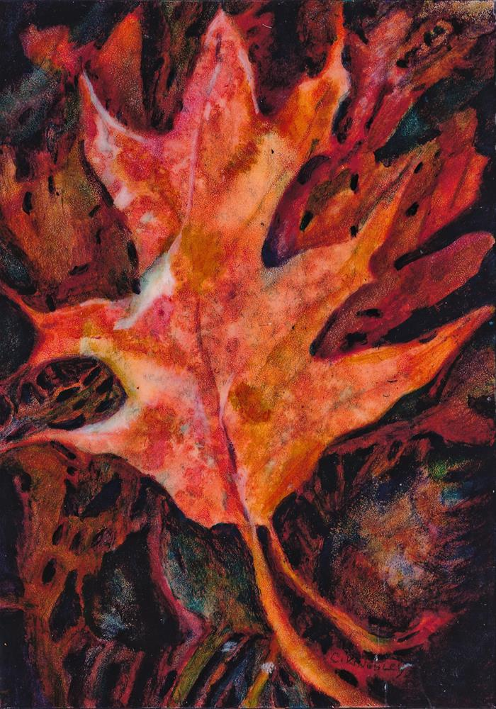 """Autumn Tapestry"" original fine art by Christiane Kingsley"
