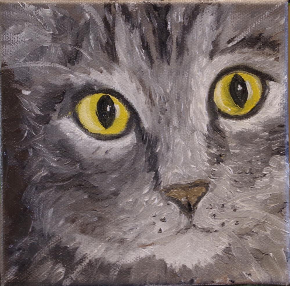 """""""The Cat's Meow"""" original fine art by Ann Cohen"""