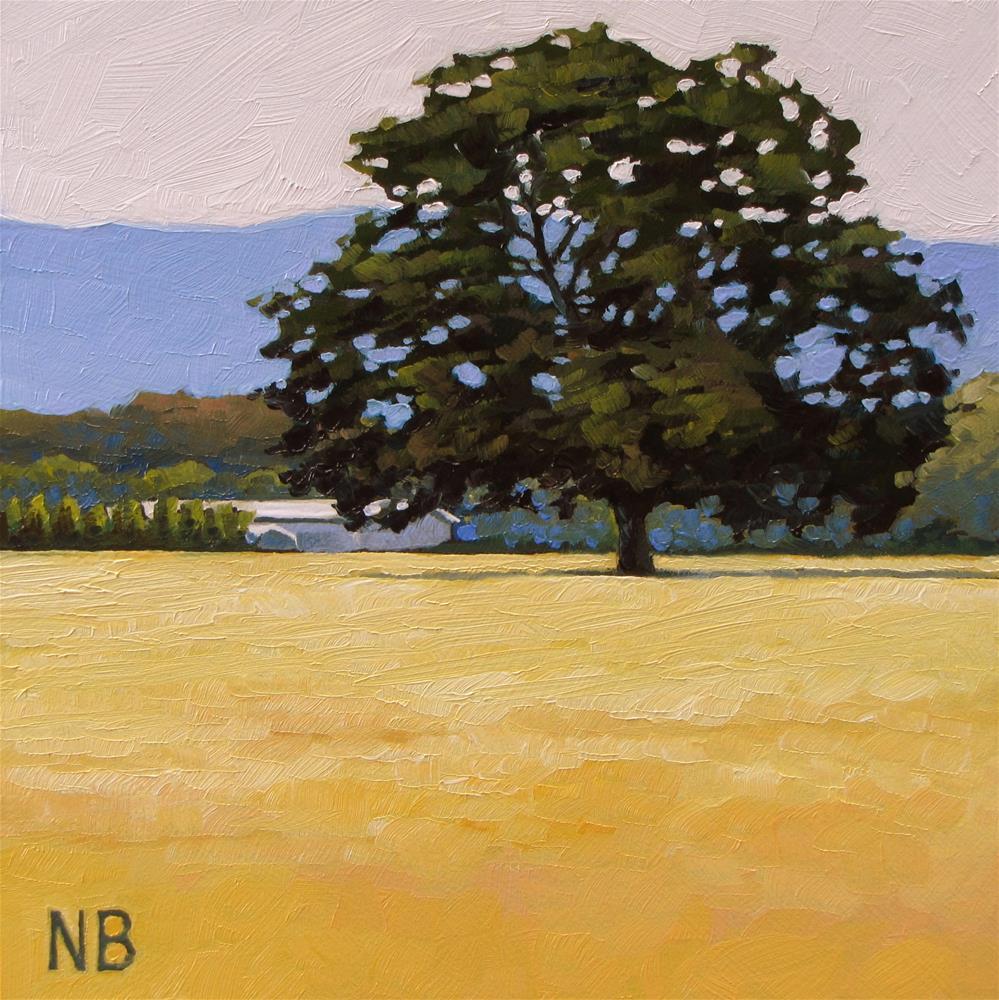 """The Oak"" original fine art by Nora Bergman"