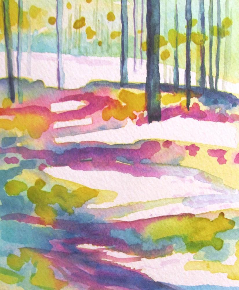 """Pathways 2"" original fine art by Patricia MacDonald"