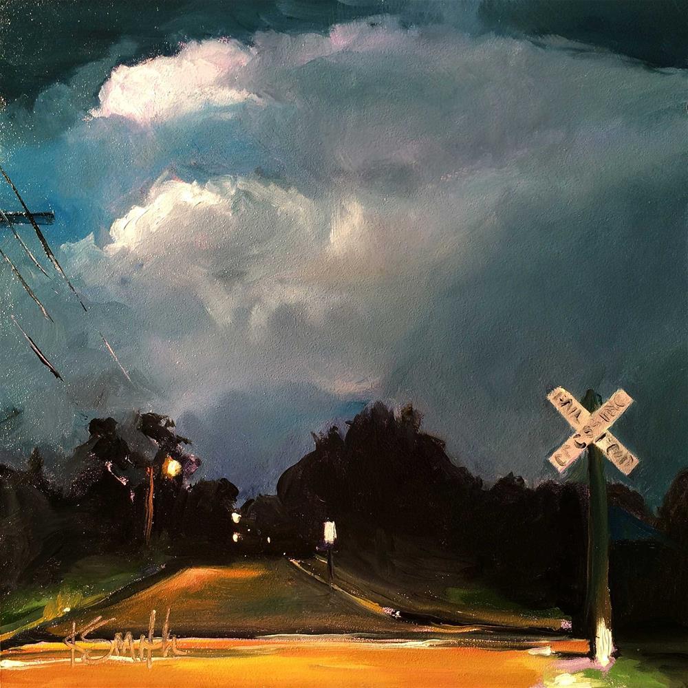 """Magic Sky"" original fine art by Kim Smith"