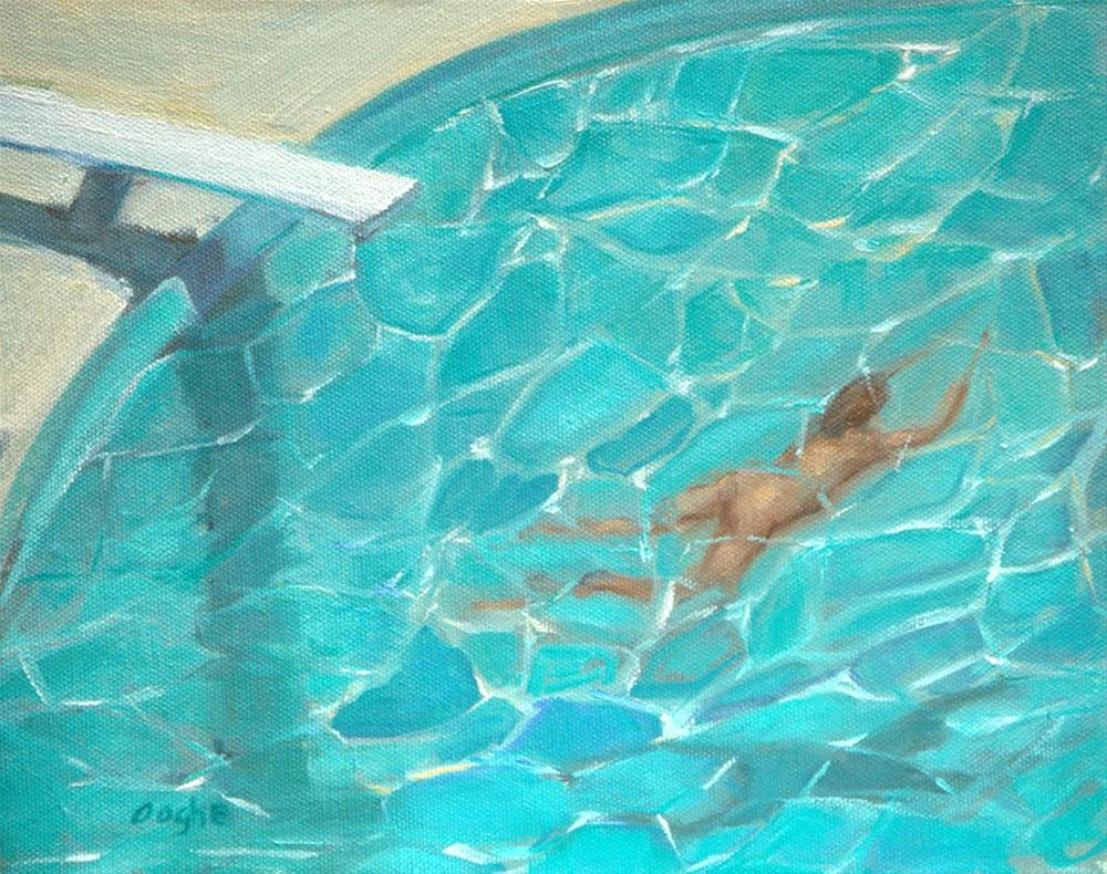 """Under Water Nude"" original fine art by Angela Ooghe"