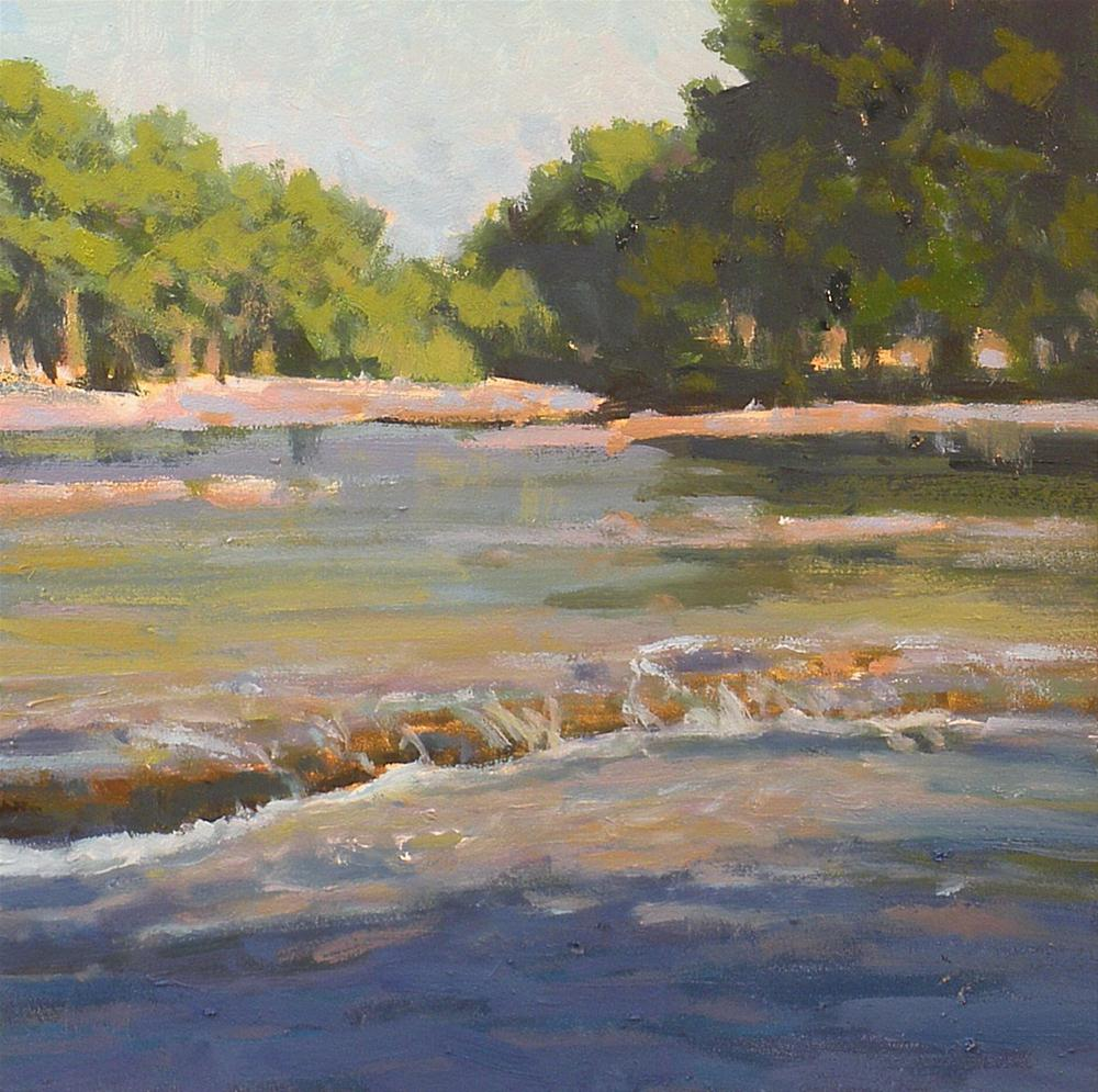 """On the Frio"" original fine art by David Forks"