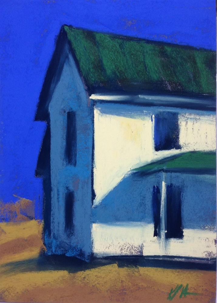 """This Old House"" original fine art by Karen Vanderpool"
