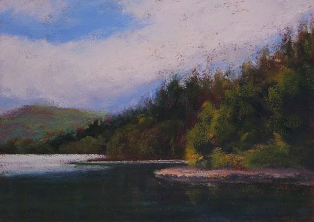"""""""Still Waters"""" original fine art by Sharon Lewis"""
