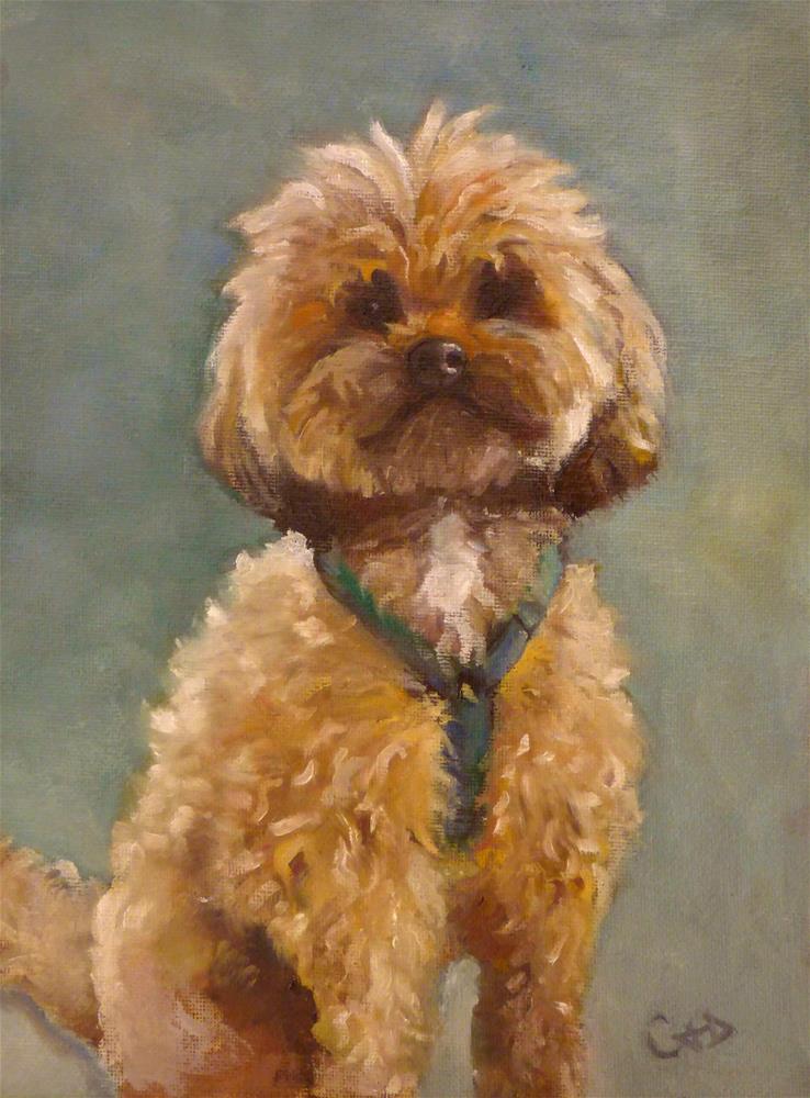 """Bradley"" original fine art by Christine Angelotta Dixon"
