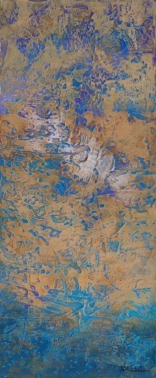 """Aquifer 2"" original fine art by Nancy Eckels"
