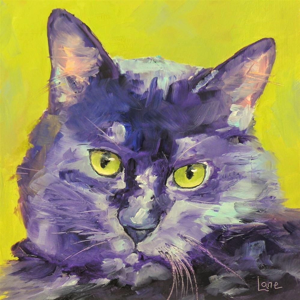 """SAUCY JACK 92/101 OF 101 PET PORTRAITS IN 101 DAYS © SAUNDRA LANE GALLOWAY"" original fine art by Saundra Lane Galloway"