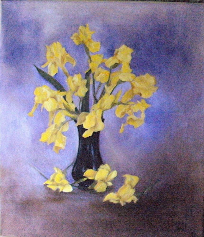 """Sunshine"" original fine art by Lynn Darby"