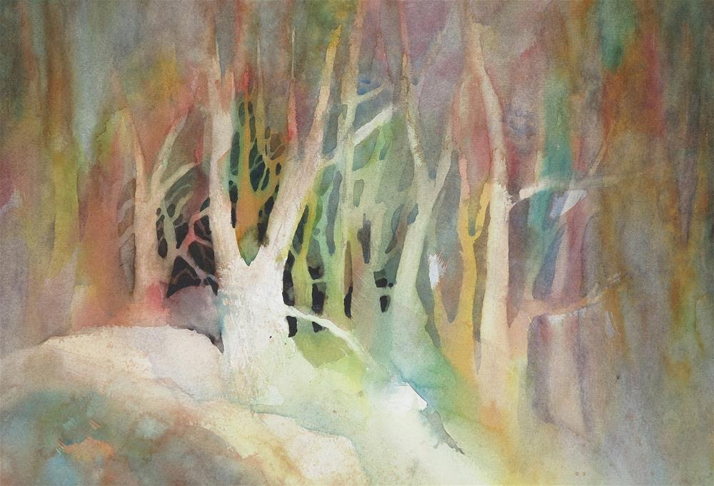 """Forest of Dreams"" original fine art by Julie Crouch"