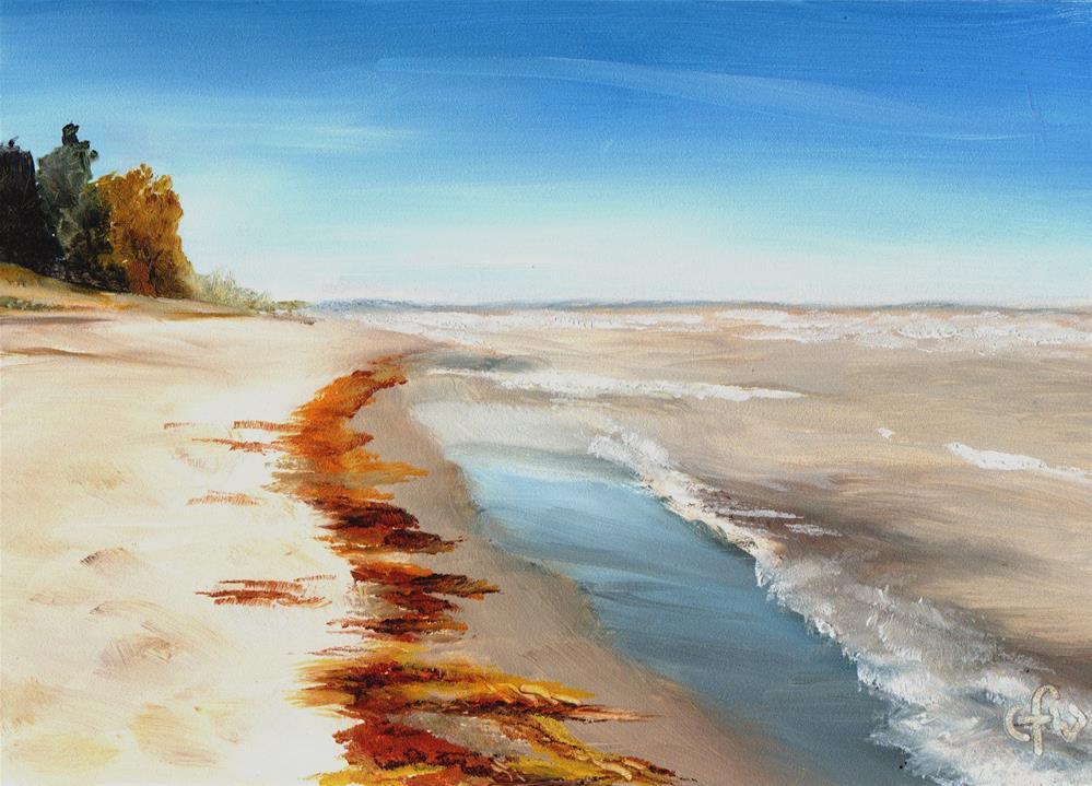 """Beach View"" original fine art by Gary Westlake"