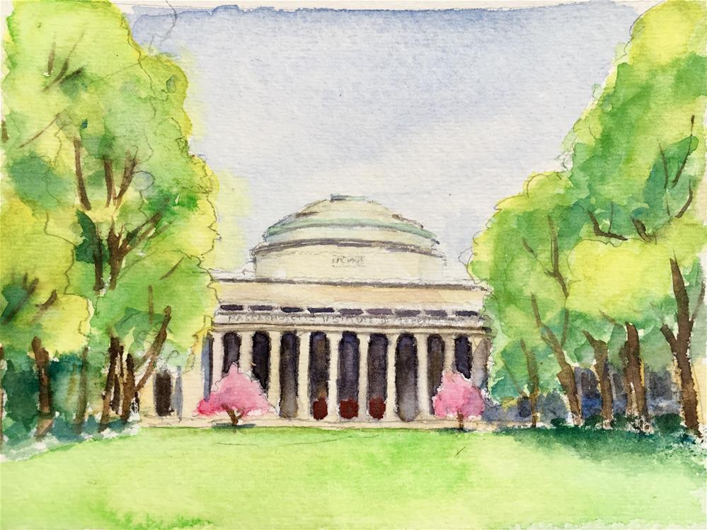 """MIT study 2"" original fine art by Anna Starkova"