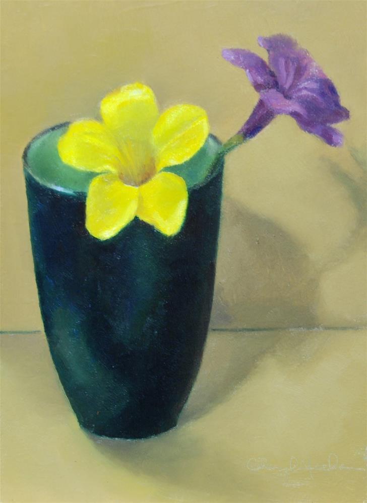 """Florida Flowers"" original fine art by Cheryl Meehan"