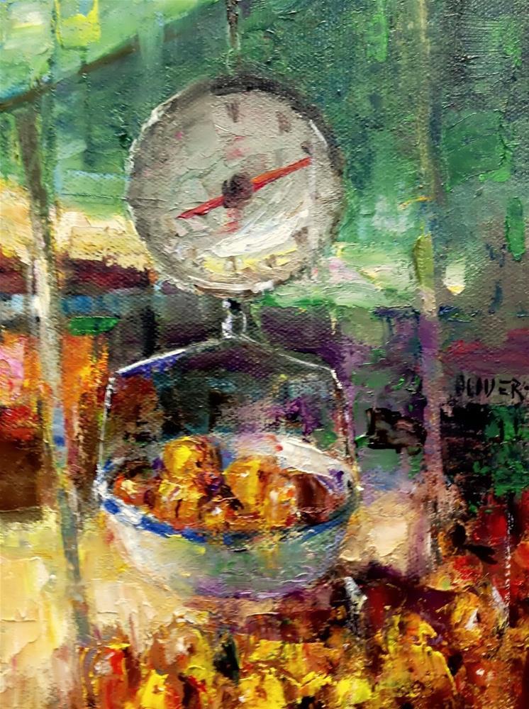 """""""Farmers Market #5"""" original fine art by Julie Ford Oliver"""