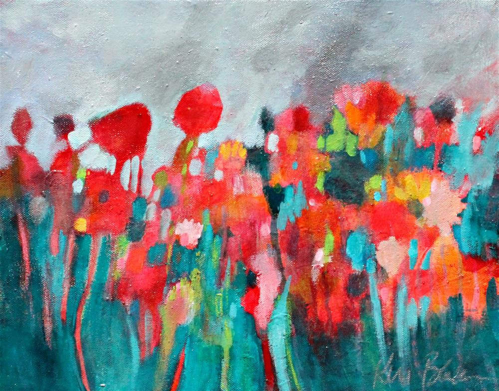 """Wildflowers"" original fine art by Kerri Blackman"
