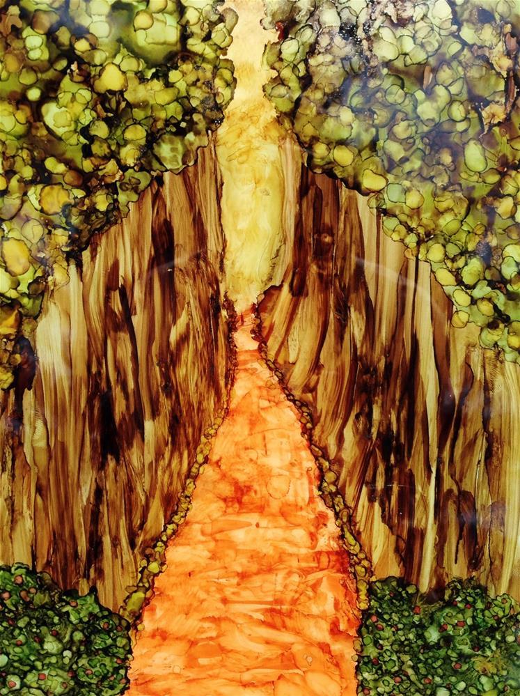 """Pathway"" original fine art by Kris Alge"
