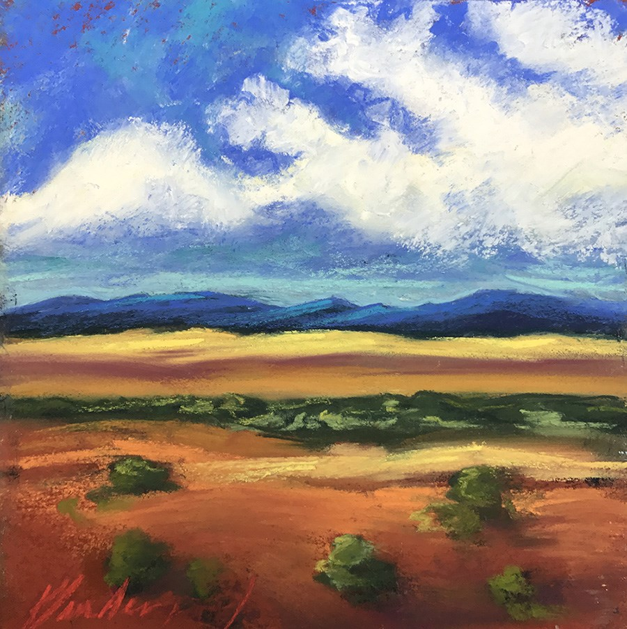 """Somewhere in New Mexico"" original fine art by Karen Vanderpool"