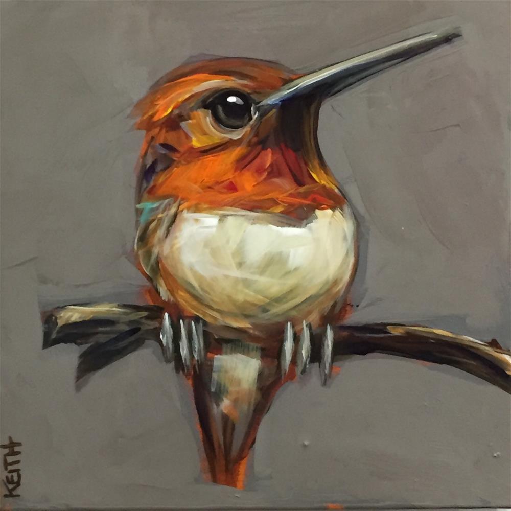 """Garcia"" original fine art by Kandice Keith"