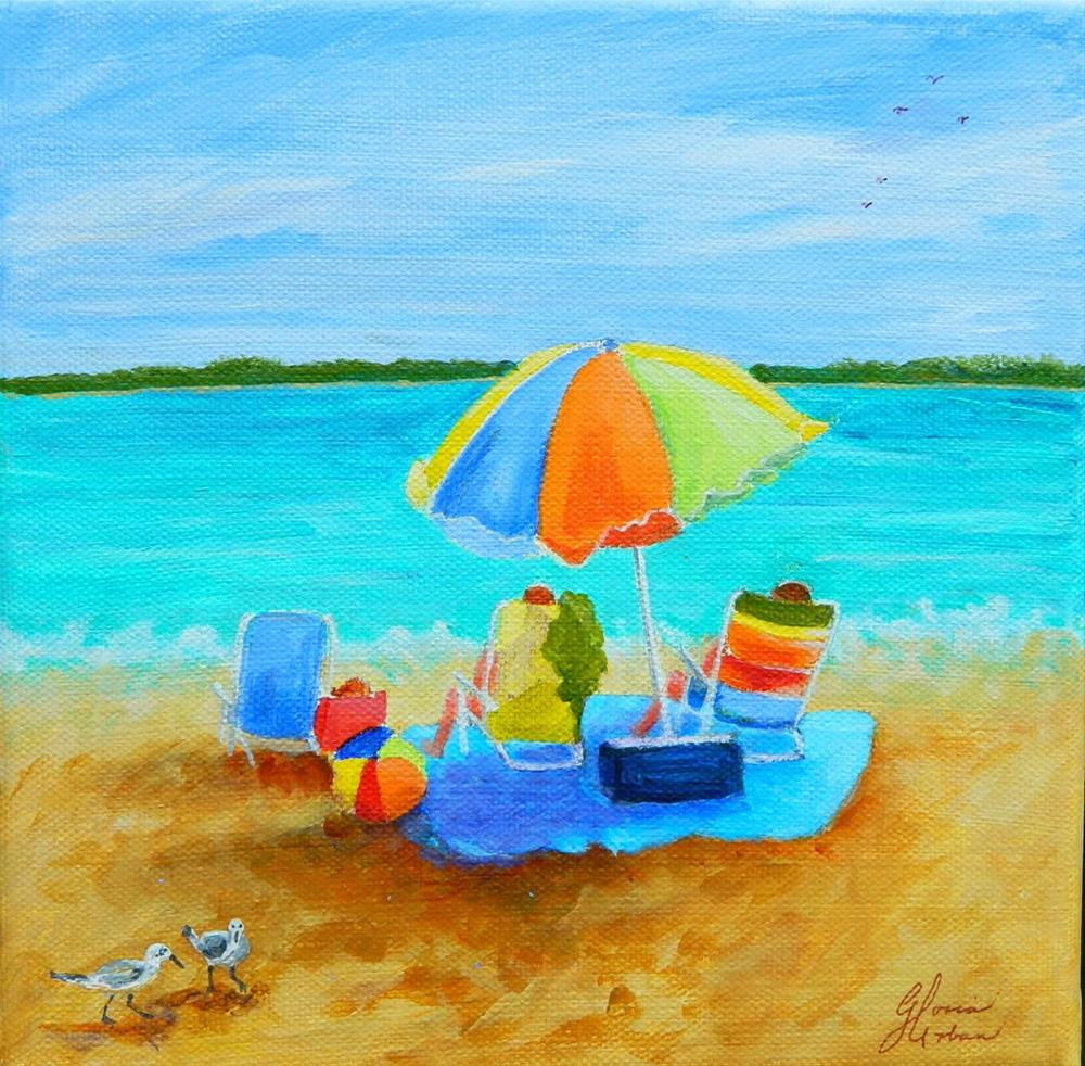 """Life is Good"" original fine art by Gloria Urban"