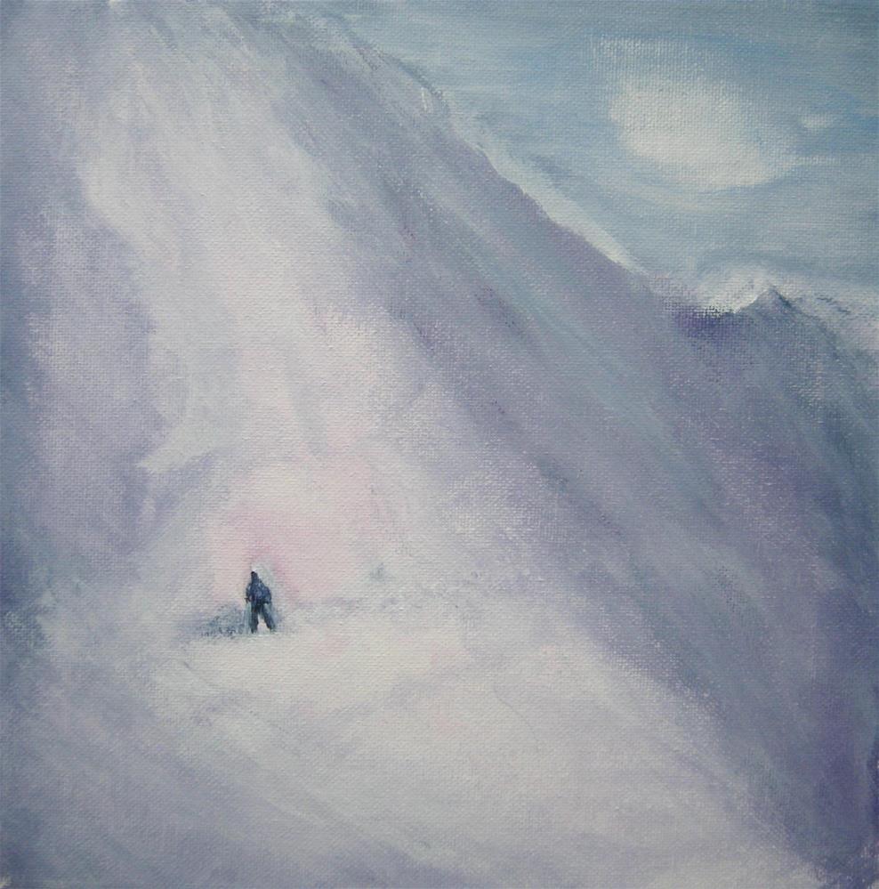 """Going Up"" original fine art by Alina Frent"