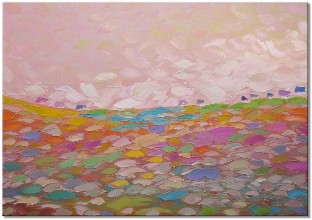 """Purple mood"" original fine art by Elena Lunetskaya"