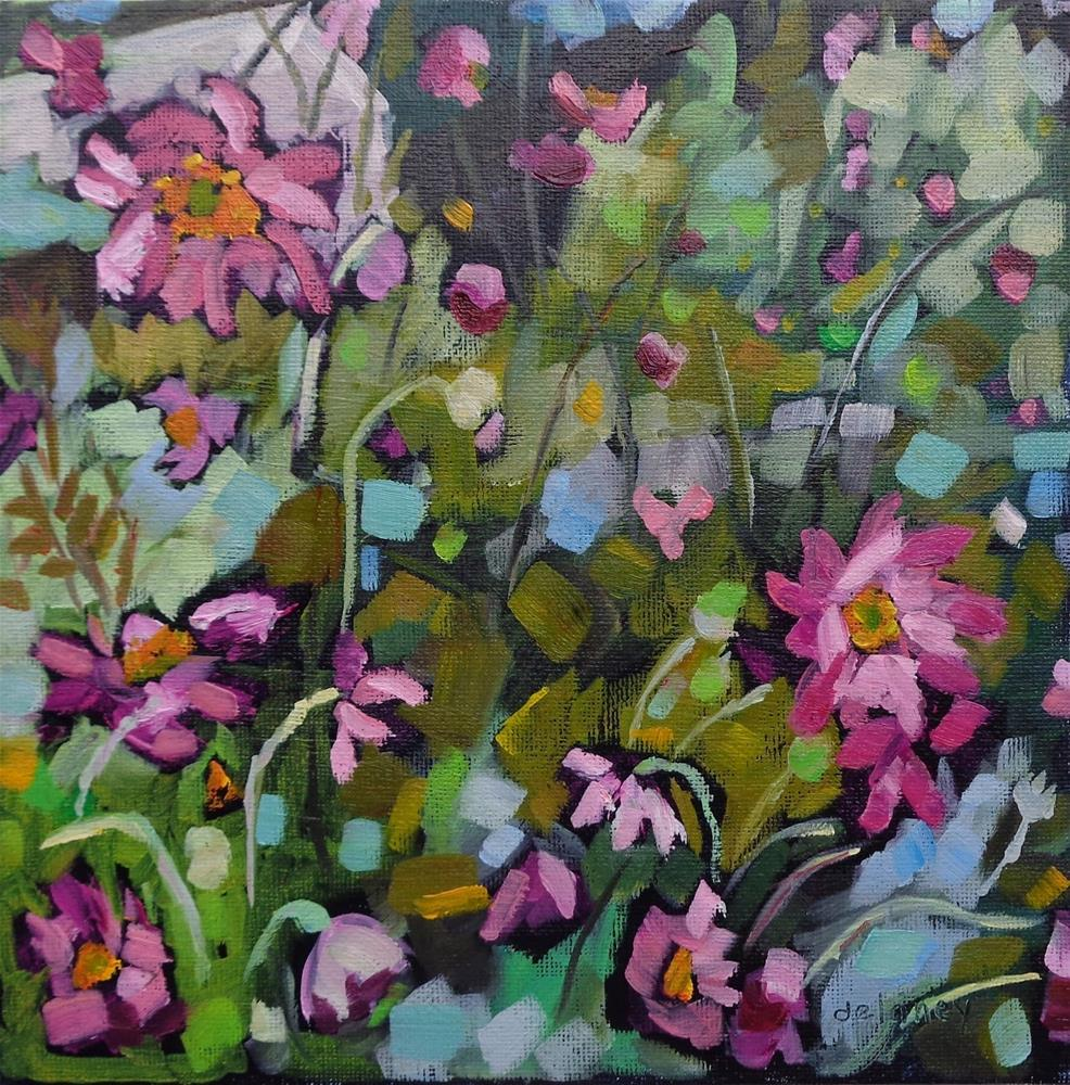 """GERALD'S FLOWERS"" original fine art by Jean Delaney"