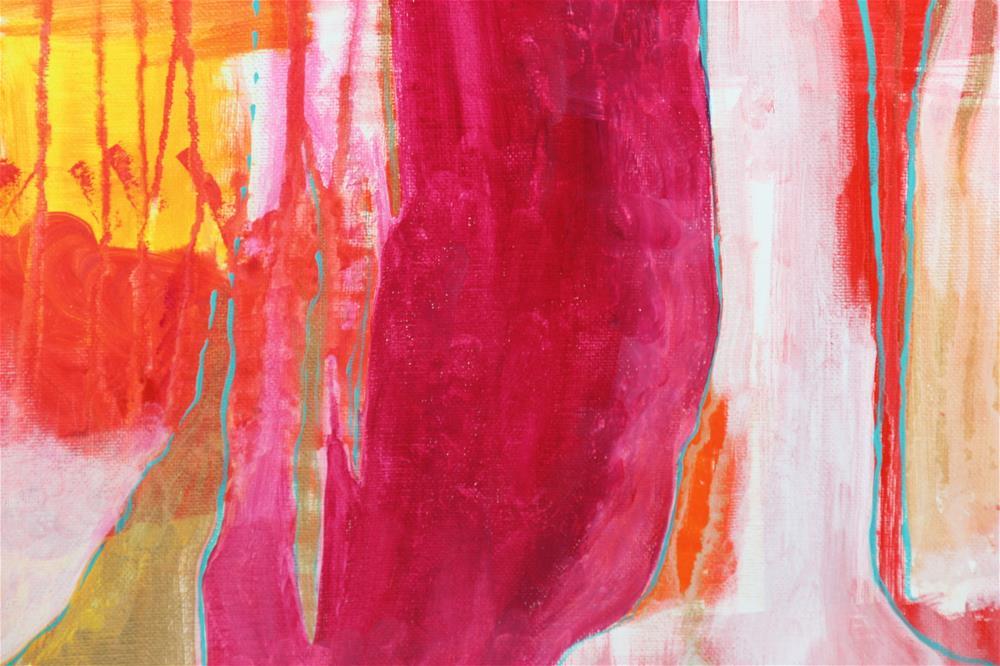 """Neon Trunk"" original fine art by Yuki Lodge"