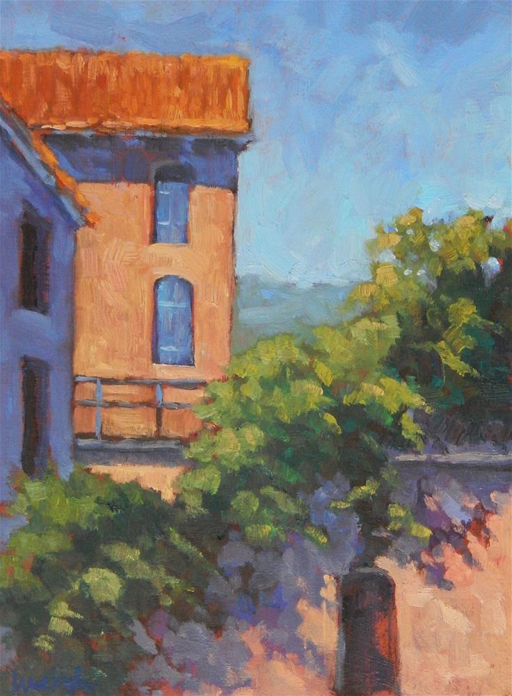 """Cascading Vines"" original fine art by Lisa Kyle"