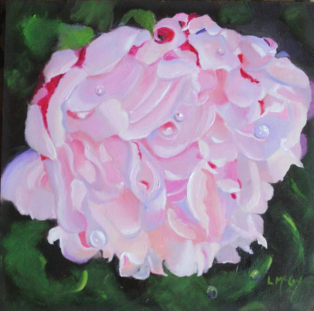 """Peony"" original fine art by Linda McCoy"
