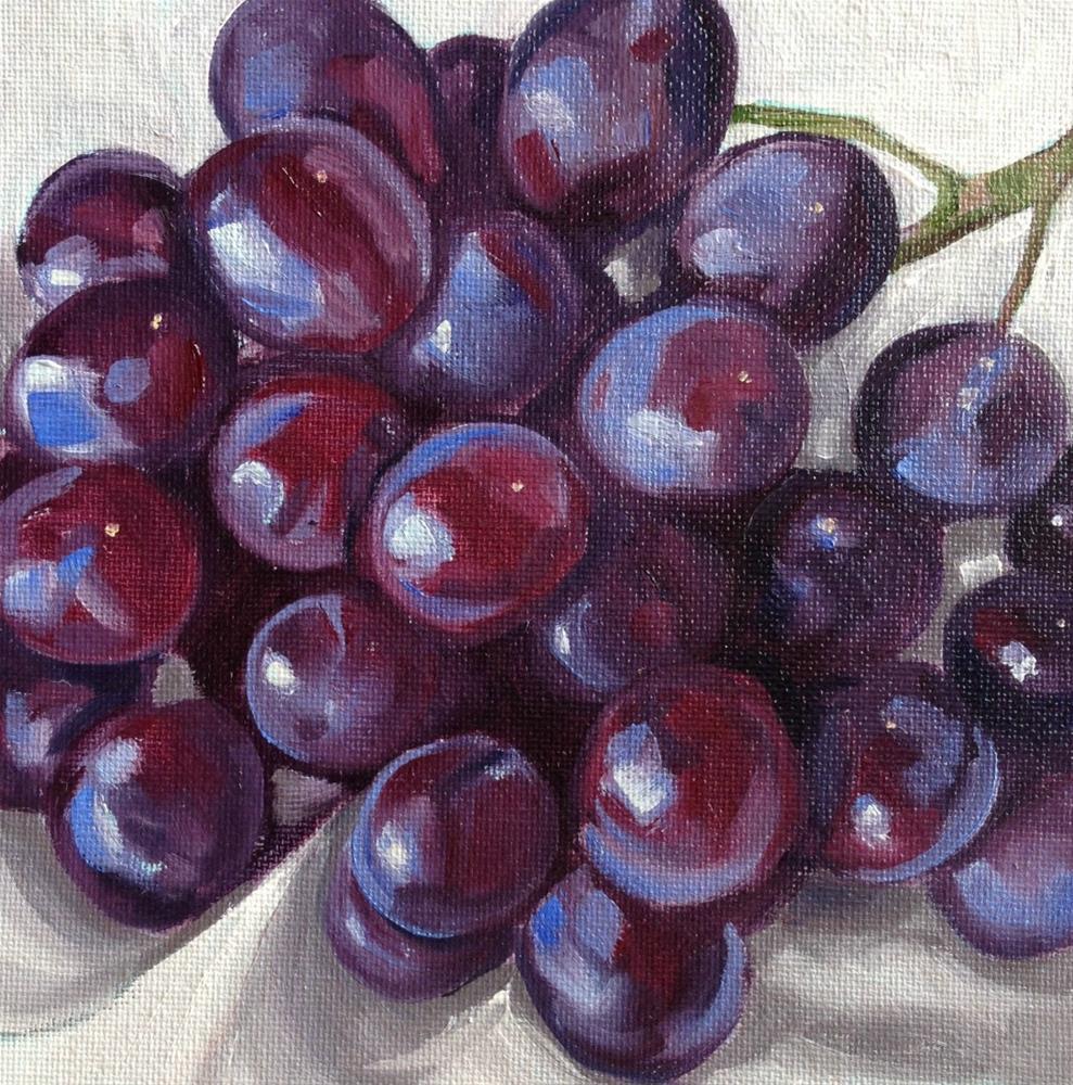 """Multi-Purples"" original fine art by Beth Moreau"
