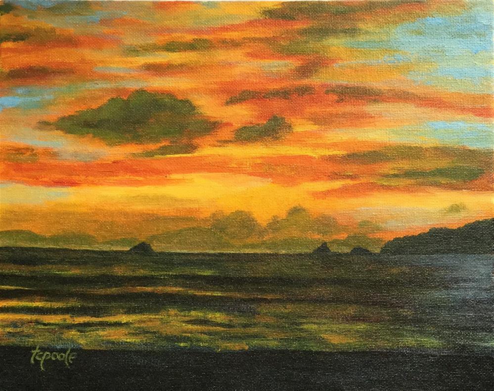 """""""Oregon Colors"""" original fine art by T.C. Poole"""