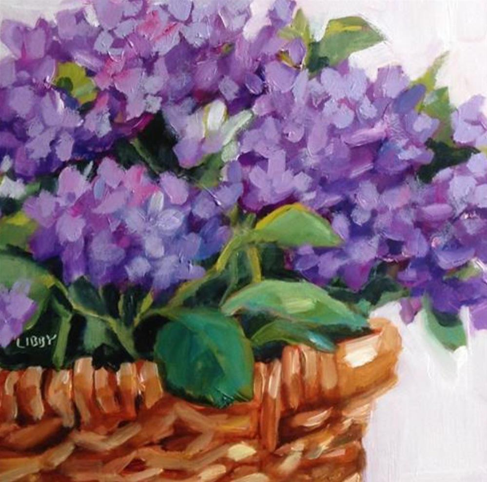"""Prime Basket"" original fine art by Libby Anderson"