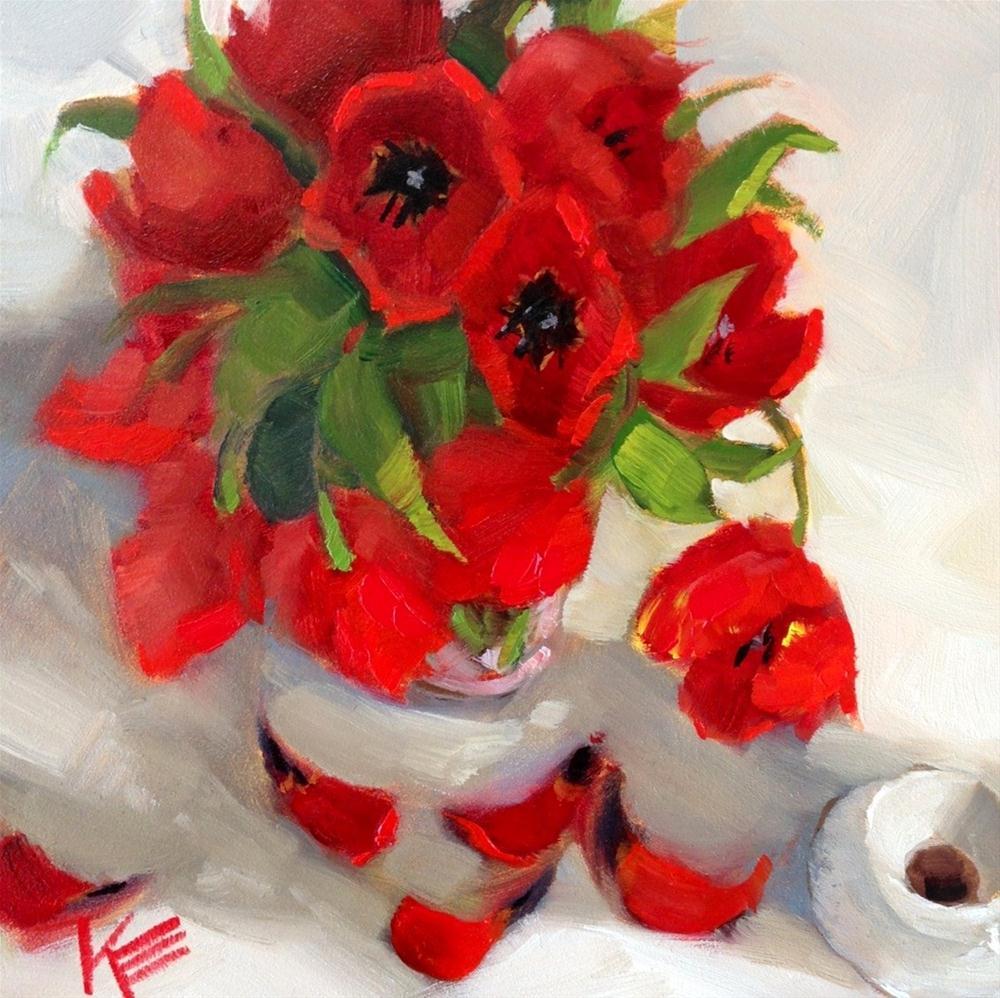 """""""Esspresso."""" original fine art by Krista Eaton"""