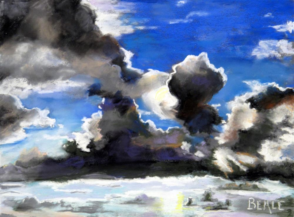 """Cloud Study 1"" original fine art by  David Beale"