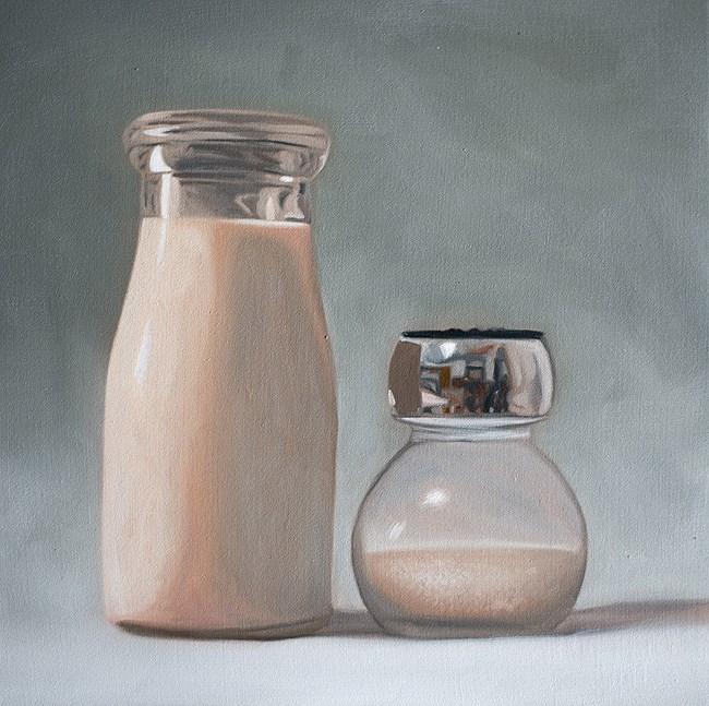 """""""Milk and Sugar"""" original fine art by Lauren Pretorius"""